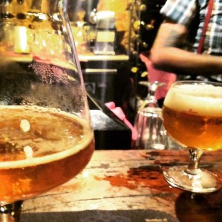 brussels pub crawl beer tasting