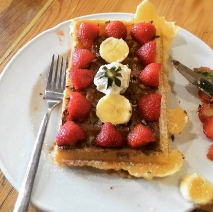 the ultimate waffle is here
